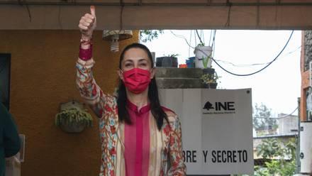Claudia Sheinbaum, jefa de gobierno de CDMX