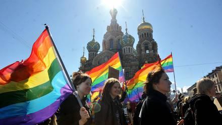 Activistas LGBT en Rusia