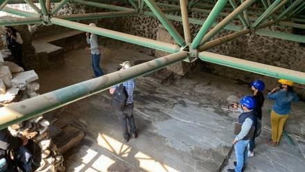 expertos analizan retirar techumbre del Templo Mayor