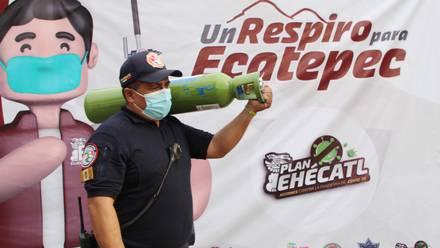 Oxígeno en Ecatepec