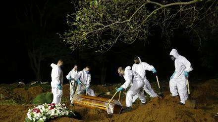 Brasil supera los 400 mil muertos
