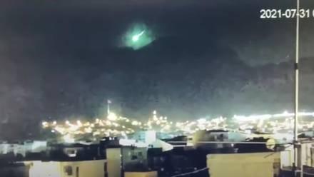 Meteorito en Turquía