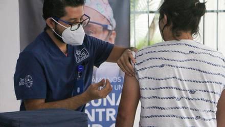 Voluntario de vacuna contra Covid-19