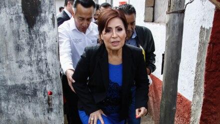 Rosario Robles visitará Guerrero en tiempo electoral. Foto/Cuartoscuro (Archivo)
