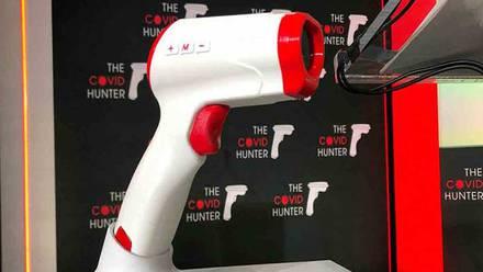 Escáner 'Covid Hunter'