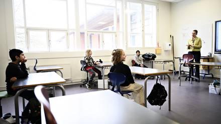 Niños de regreso a la escuela.