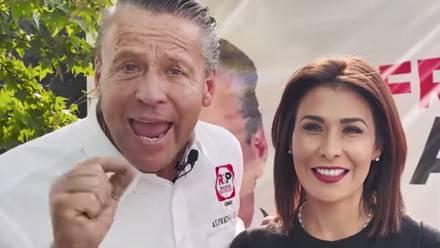 Alfredo Adame y Lucy Ventura/Facebook