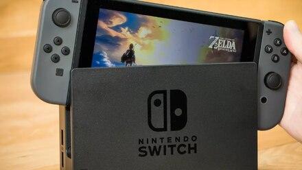 Nintendo Switch con The Legend of Zelda