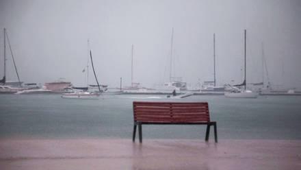 Huracán Olaf en Baja California Sur