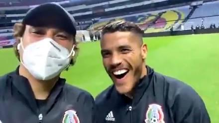 Guillermo Ochoa y Jaime Lozano