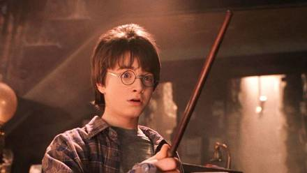 Escena de 'Harry Potter y la Piedra Filosofal'.