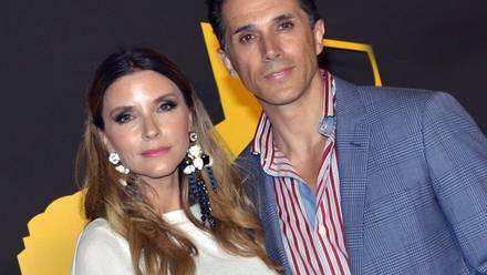 Issabela Camil y Sergio Mayer.