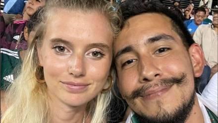 'El Toluco' y su novia