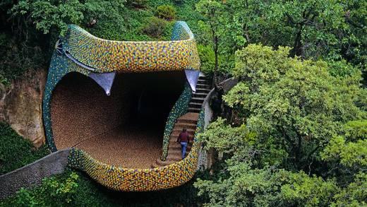 ¿Dónde es y cómo llegar al Nido de Quetzalcóatl de Naucalpan?