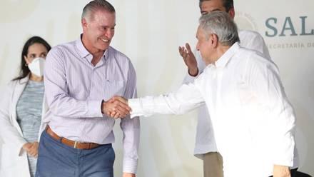 Quirino Ordaz Coppel y AMLO