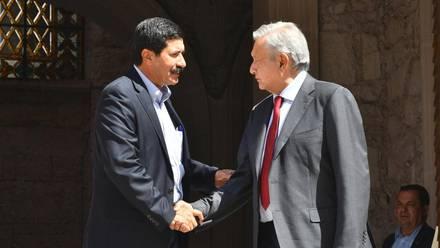 Javier Corral y Andrés Manuel López Obrador