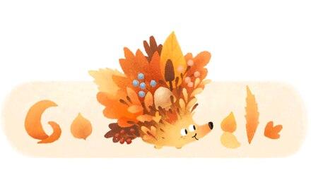 Doodle de Google por el equinoccio de otoño