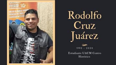 Rodolfo Cruz Juárez.