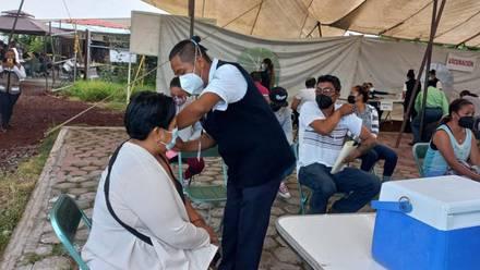 Vacunación en Puebla