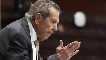 Presidente de la Cámara de Diputados, Porfirio Muñoz Ledo.