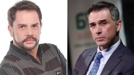 Héctor Parra y Sergio Mayer