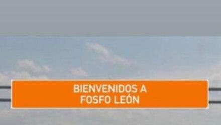 """""""Fosfo León"""" en vez de Nuevo León."""