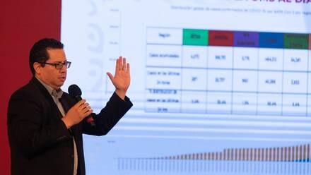 José Luis Alomía, director de Epidemiología de la SSa.