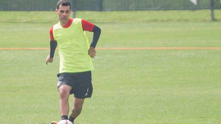 Rafael Márquez volvió a los entrenamientos del Atlas tras semanas de ausencia