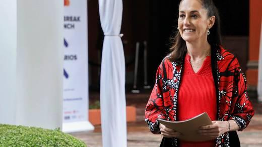 Destacan encuesta sobre Claudia Sheinbaum de SDPnoticias en Radio Fórmula