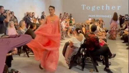 Kunno desfila en el new York Fashion Week