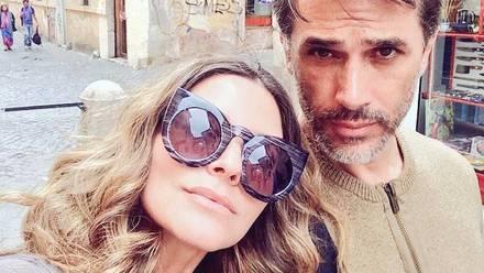 Issabela Camil y Sergio Mayer