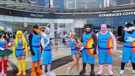 Cosplay de 'Space Jam: A New Legacy'