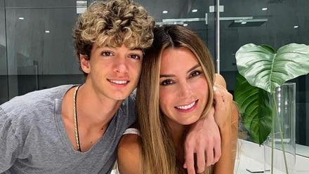 Elizabeth Gutiérrez y su hijo, Christopher