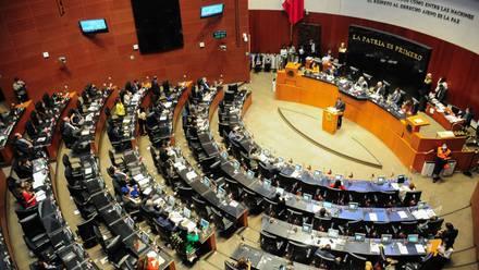 Senado en sesión del 13 de septiembre de 2021