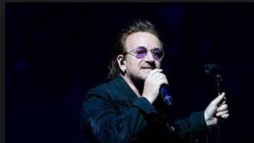 Bono se quedó sin voz en pleno concierto