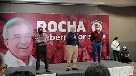 Rubén Rocha se declara ganador
