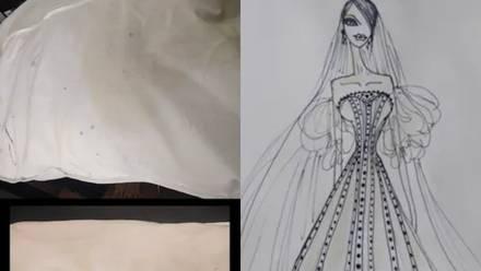 Estafa de Fernando Preda, al hacer vestido de novia de 60 mil pesos.