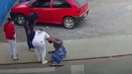 Hombre atropellado por un perro