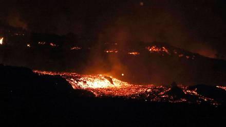 Volcán Cumbre Vieja, La Palma
