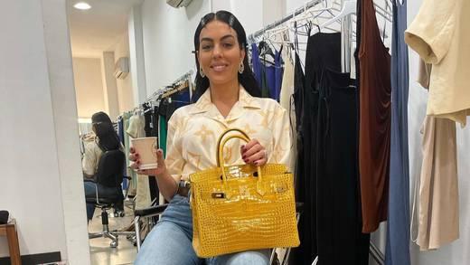 Georgina Rodríguez presume un día de shooting