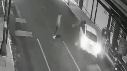 Identifican a hombre que atropelló a novia y amiga en Iztacalco