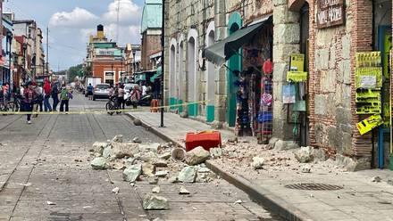 Sismo en Oaxaca
