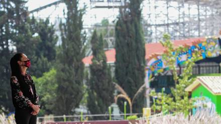 Construcción del Parque Aztlán