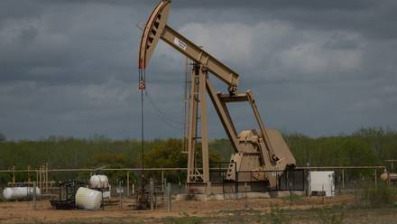 Extracción del petróleo.