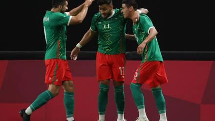 Selección Mexicana tras calificar a cuartos de final de Tokio