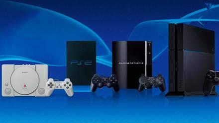 Todas las generaciones de consolas PlayStation