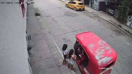 Menores de edad y sujeto detenido en Tabasco