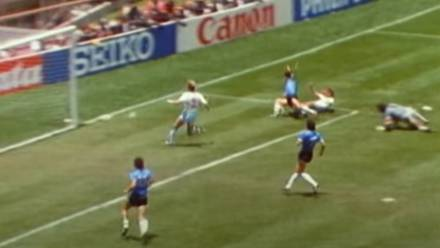 Diego Maradona y su Gol del Siglo