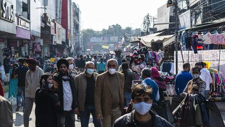 Gente en India