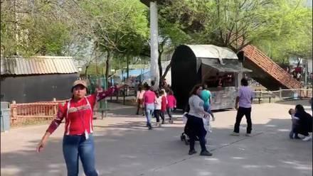 Ejecutan A Una Persona En Banos Del Parque Bosque Magico De Guadalupe